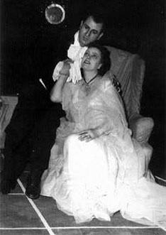 Šime Mardešič (Alfredo) i Alma Peranić (Violetta) – Giuseppe Verdi, Traviata, Narodno kazalište Split, 1959.