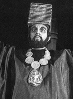 """Franjo Godec (Nilakantha) – Léo Delibnes, Lakmé, Narodno kazalište """"Ivana Zajca"""", 1955."""